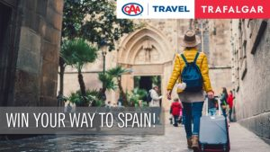 CAA Travel & Trafalgar – Win a 9-day Spanish Wonder guided vacation for 2