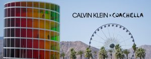 Calvin Klein – #MyCalvins x Coachella – Win a trip for 2 to Palm Springs, California to attend Weekend 2 of Coachella 2019 valued at $9,620