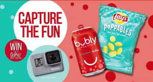PepsiCo – Capture the Fun – Win 1 of 3 Go-pro Hero7 Cameras valued at $400 CAD each