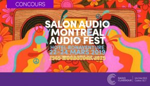 Classiq Media – Montreal Audio Show 2019 – Win a MMF-2.3 Music Hall Turntable valued at $749