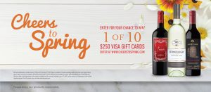 Corby Spirit and Wine – Win 1 of 10 Visa Gift cards valued at $250 each