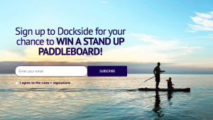 Cottage Life – Subscribe to Dockside – Win a Stand Up Paddle Board Kit valued at $500