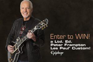Epiphone – Win a Ltd. Ed. Peter Frampton Les Paul Custom PRO