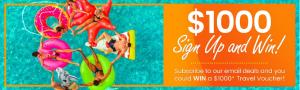 Escapes.ca – Win a $1,000 Future Travel voucher