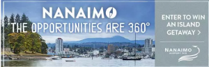 Global News – Win an Island Getaway to Nanaimo valued at $2,110