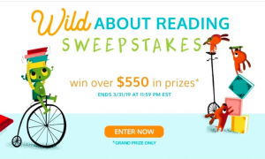 I See Me – The Wild About Reading – Win a prize package valued over $550 & 2 Runner-up prizes valued at $170 each