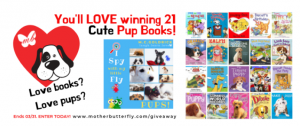 KingSumo – MotherButterfly Books – Win 21 Puppy Books for Kids valued at $200