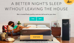 Marilyn Denis Show – Bed in a Box – Win 1 of 3 Cocoon by Sealy queen size mattress valued at $1,099 CAD each