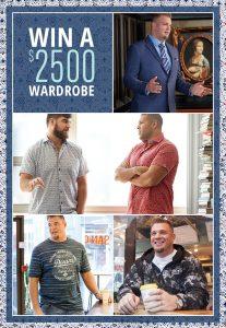 Mr. Big & Tall Menswear – Win a $2,500 Wardrobe