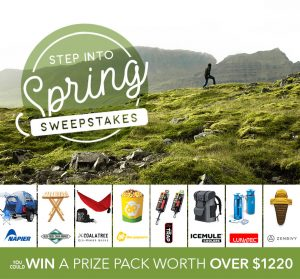 Napier – Step Into Spring – Win a prize package valued at $1,220 in Gear