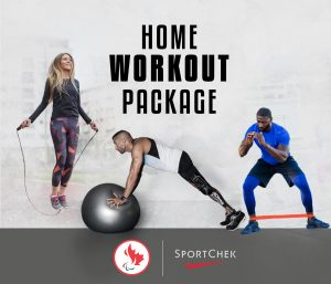 Paralympic Foundation – Win a Home Workout Package valued at $200
