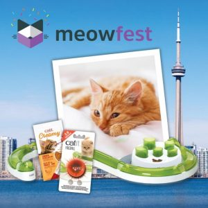 Rolf C.Hagen – Catit Meowfest – Win a grand prize of a trip to meowfest Toronto valued at $2,800 OR 1 of 5 minor prizes