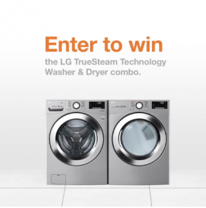 The Home Depot – Win the LG TrueSteam Technology Washer & Dryer combo
