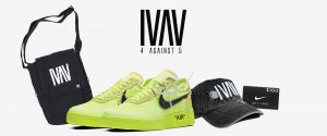 Tunespeak – Win a pair of Nike Air Force 1 Low Off-White Volts in your size & a $100 Nike gift card plus a IVAV Shoulder Bag + Hat (total prize value is $665 CDN)