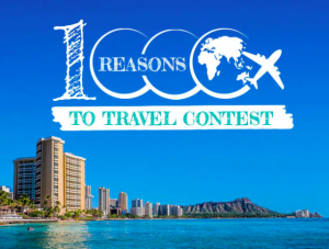 Uniglobe Travel – A Thousand Reasons to Travel – Win a $1,000 travel voucher