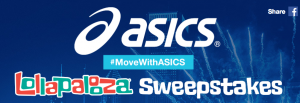 ASICS – Win a Rock Flight to Lollapalooza in Chicago for 2