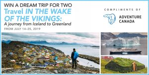 Adventure Canada – Win a cruise for 2 onboard the Ocean Endeavour