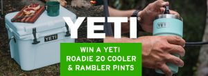 Back Country Skiing – Win a Yeti Cooler