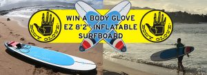 Backcountry Skiing Canada – Win a Body Glove Inflatable Surfboard