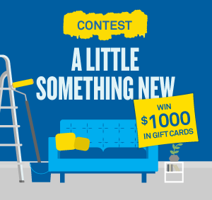 CAA Quebec – A Little Something New – Win a prize package valued at $1,000 in gift cards