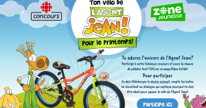 CBS – Win 1 of 3 bikes with the effigy of Agent Jean valued at $200 each