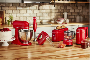 CNET – Win 1 of 2 KitchenAid's brand new Limited Edition Queen of Hearts Collection valued at $755 each