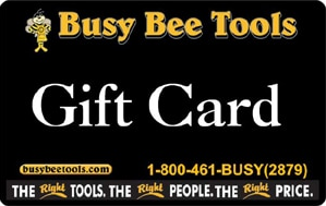 Canadian Woodworking – Win Busy Bee Tools gift card valued at $100