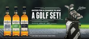 Corby Spirit and Wine – Win a set of golf clubs valued at $1,400