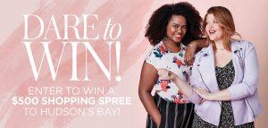 DARE – Win a $500 Shopping Spree