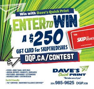 Dave's Quick Print – Win a $250 gift card