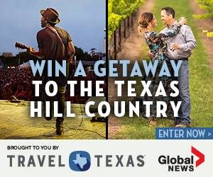 Global News – Win a getaway for 2 to Austin