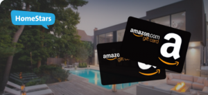HomeStars – Win 1 of 2 Amazon gift cards valued at $100 each
