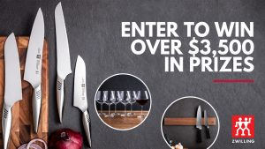 Kitchen Stuff Plus – Win a grand prize valued at over $1,100 OR 1 of 2 minor prizes