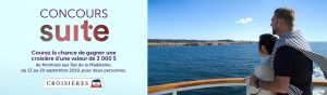La Presse, CTMA Cruises – Win a cruise for 2 to the Magdalen Islands