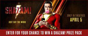 Landmark Cinemas – Win 1 of 5 Shazam! prize packs