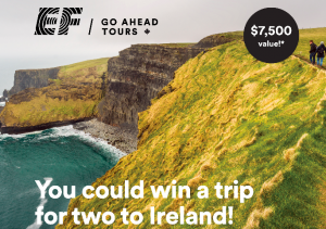 Reader's Digest – Win a trip for 2 for 6 nights to Ireland
