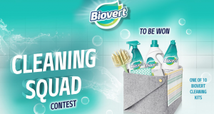 Savons Prolav – Win 1 of 10 prize packs of 13 Biovert cleaning products and accessories