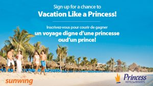 Sunwing Vacations – Win a trip for 2 to Mexico valued at $3,000 CDN