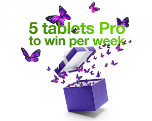 Telus – Win 1 of 15 tablest