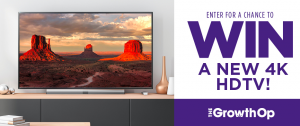 The GrowthOp – Win a LG 4K Led TV 65″