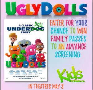 Tribute Publishing Kids – Win 1 of 20 Family tickets to see Ugly Dolls