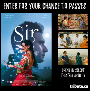 Tribute Publishing – Win 1 of 10 double passes to see 'SIR'