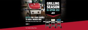 Ace Get Grilling Weber BBQ – Win a Burner Gas Grill