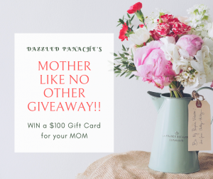 Dazzled Panache – Win a $100 gift card for your Mom