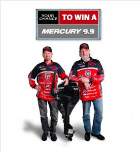 Fish'n Canada – Win 1 of 9 Mercury Four Stroke motors