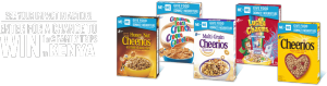 General Mills – Win 1 of 3 family trips of 4 to Kenya