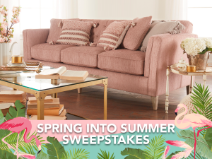 LazBoy – Win an upholstered furniture valued at up to $2,000