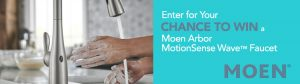Moen Canada – Win a Kitchen faucet valued at $450