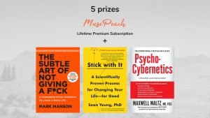 Muse Peach – Win 1 of 5 prize packs