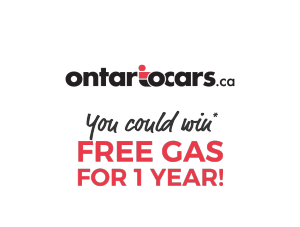 OntarioCars – Win a grand prize of $2,500 in Canadian Tire gift cards OR 1 of 30 minor prizes